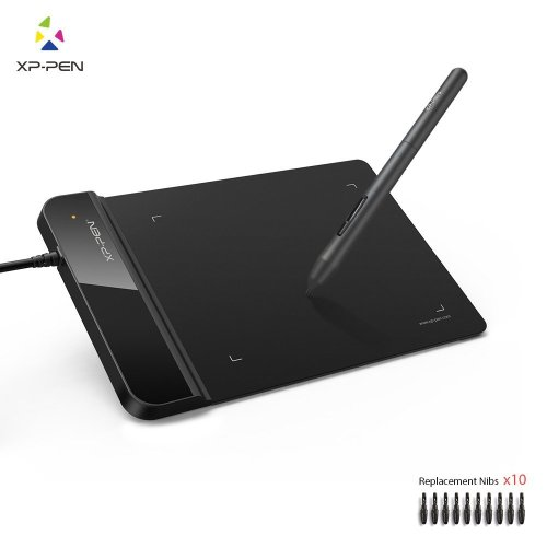 XP-Pen G430S Graphics Tablet 4x3 inch for osu! Art Design Pen Drawing Tablet Black