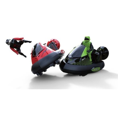 AZImport HV01 Remote Control Bumper Cars with Crash Sound Effects & Ejecting Drivers - Set of 2