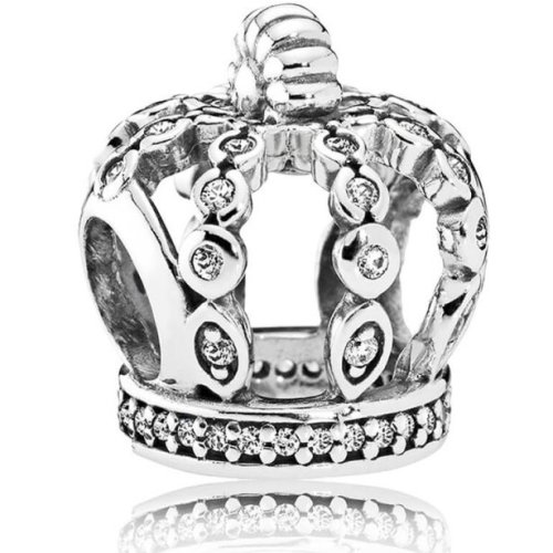 Pandora Fairytale Crown Charm - 792058CZ