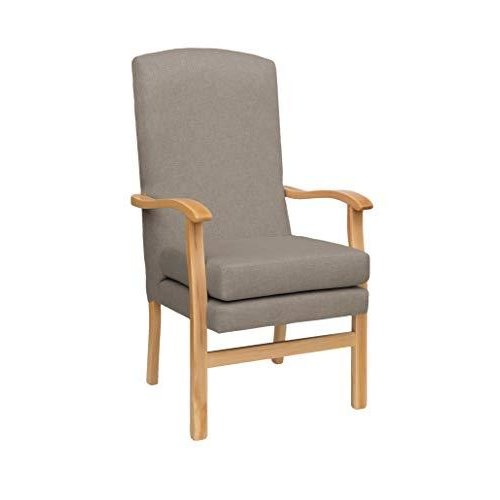 MAWCARE Deepdale Ortopaedic High Seat Chair - 17 x 20 Inches [Height x Width] in Highland Mushroom (lc48-Deepdale_h)