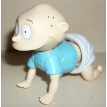 Burger King Kids Meal Rugrats the Movie Toy Wind up Tommy by BK