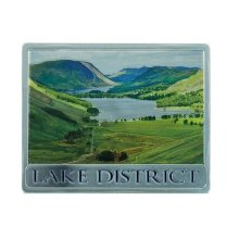 Lake District Foil Stamped Fridge Magnet Souvenir Gift National Park Small Lake