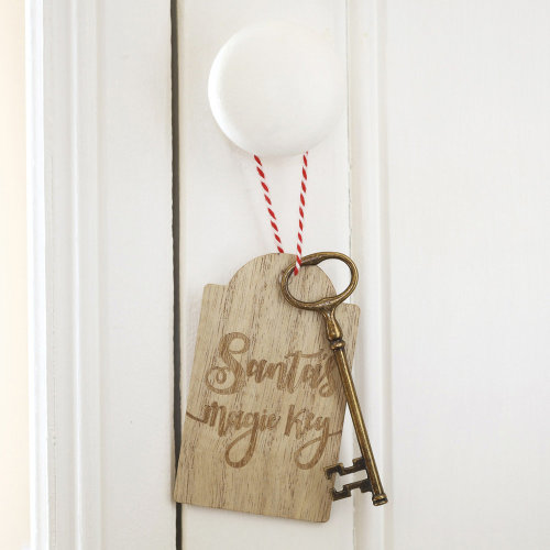 Santas Magic Key Keepsake Tag and Key - Childrens Gift