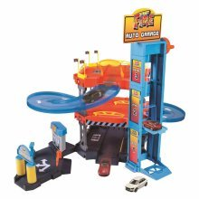 Burago Auto Garage Playset Street Fire 1:43 18-30361