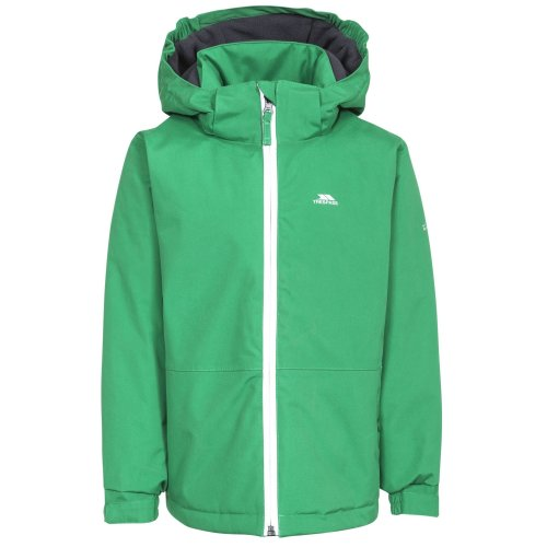Trespass Boys Penalty Touch Fastening Hooded Jacket