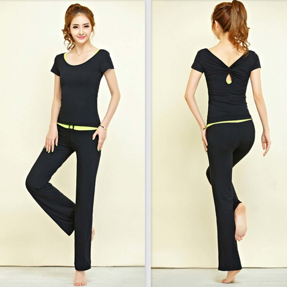 29ca79ce0770 ... Womens Dance Clothes Yoga Wear Set 3 Pieces Fitness Yoga Clothing Dance  Outfit - 1. >