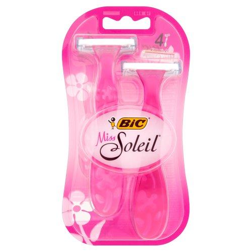 Bic Miss Soleil Triple Blade Razor - 4 Pack