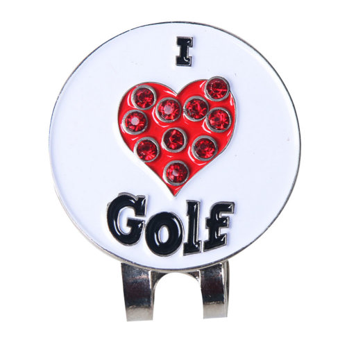 Marker Golf Hat With a Marker