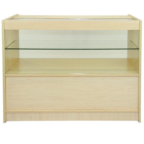 Maple Shop Counter Retail Display Unit C1200