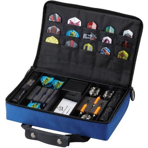 Casemaster Classic 12 Dart Nylon Storage/Travel Case, Blue