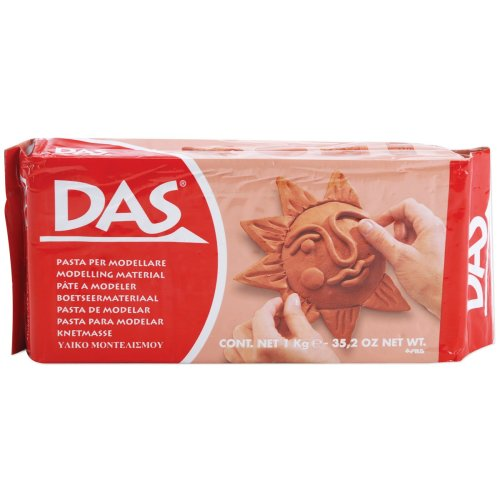 DAS Air-Dry Clay 2.2lb-Terra Cotta