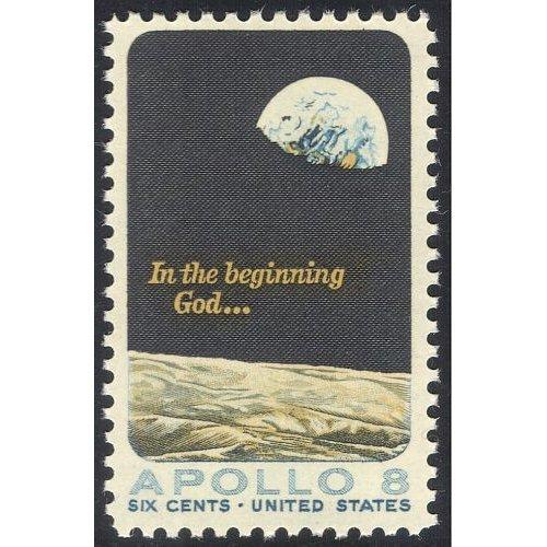 "USA 1969 ""Apollo 8""/ Space Flight/ Moon/ Earth/ Astronauts/ Transport 1v (n42940)"