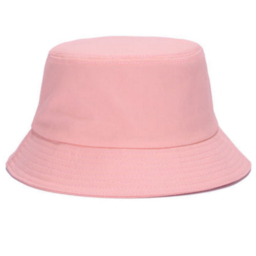Outdoor Sports Hiking Fishing Hat Bucket Hat Sun Hat for Girls, Pink