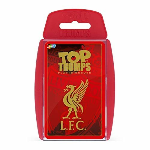 Top Trumps Liverpool FC 2018/19 Card Game