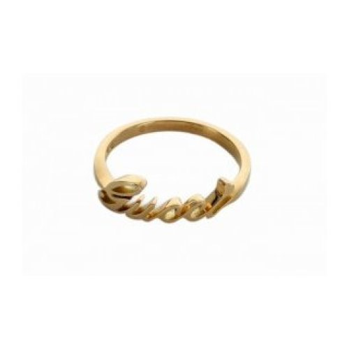 GUCCI RING GUCCI 18KT YELLOW GOLD size 13 201955 J8500 8000