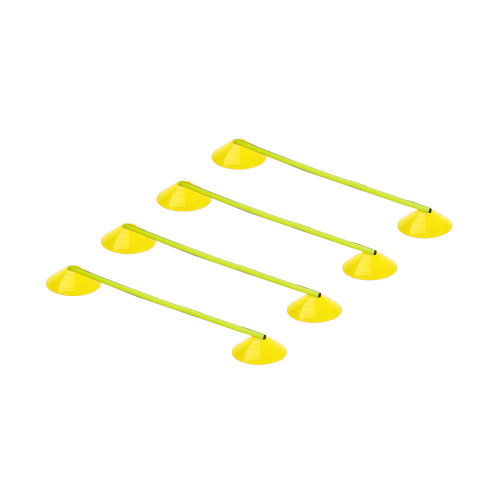 Football Rugby Training Mega Disc Pole Marker Speed Ladder Cone Set