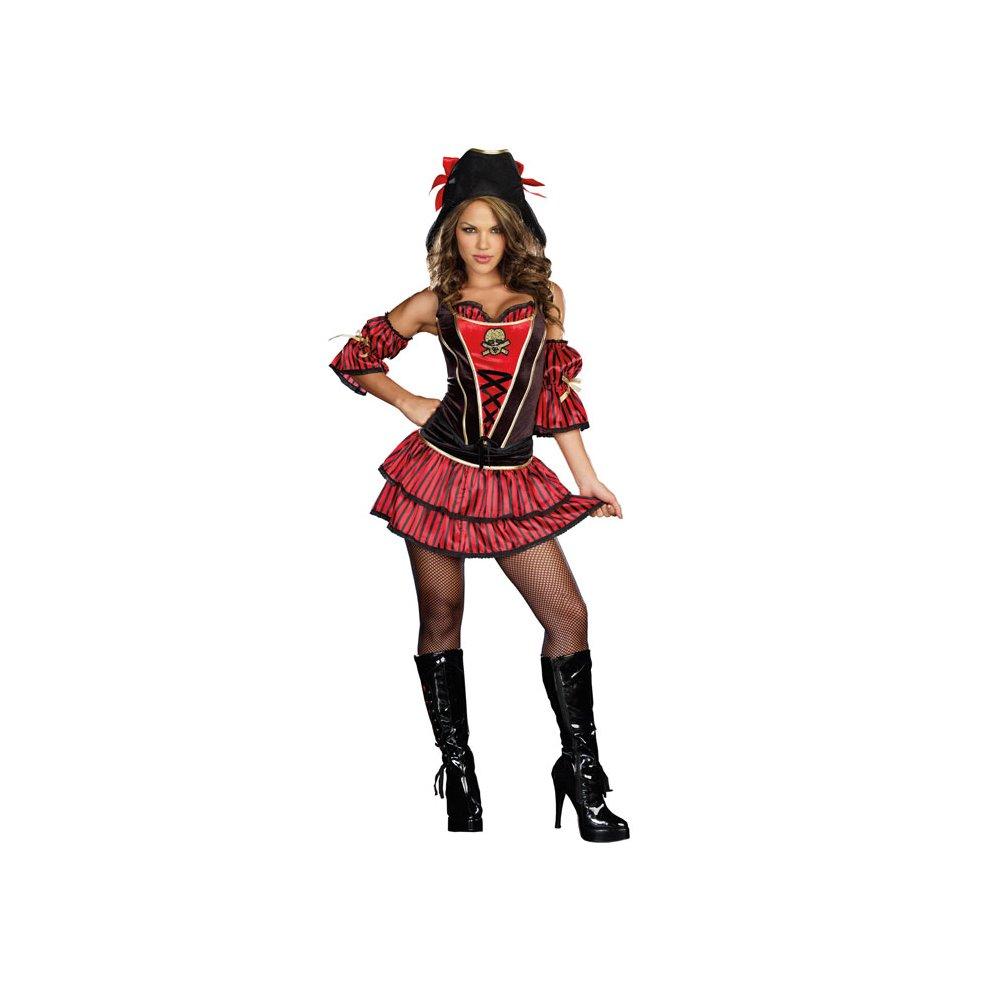 f9850abb994 (LG) Dreamgirl Wild At Sea Pirate Buccaneer Fancy Dress D8194