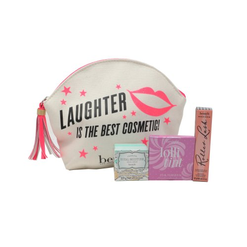Benefit Laughter Is The Best Cosmetic! 4-Piece Set 0.1oz/3ml  New