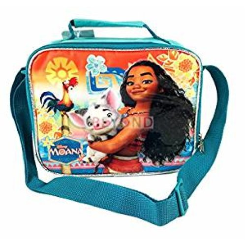 Lunch Bag - Disney - Moana - w/Pua Blue Girls Case 100629