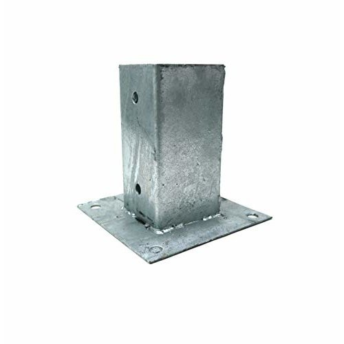 Galvanised Bolt Down Fence Anchor - 91mm | Bolt Down Fence Grip