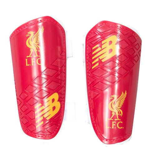 New Balance Liverpool FC Dispatch Junior Football Shinguard Shinpad Red/White