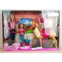 Barbie Pinktastic Sisters Riding Lessons by Mattel