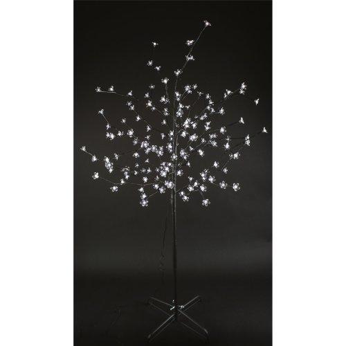 White 1.5M Cherry Blossom Tree - 150 LED Christmas Xmas Indoor Outdoor Lights