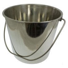 Silver Toolzone Lid For 12 Litre Stainless Steel Bucket -