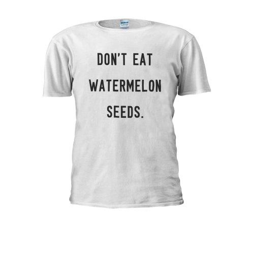 Don't Eat Watermelon Seed Funny Men Women Unisex Top T Shirt
