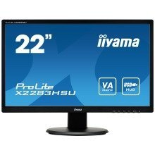 "Iiyama Prolite X2283hsu-b1dp 21.5"" Full Hd Va Matt Black Computer Monitor Led Display"