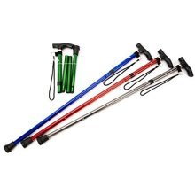 Life Healthcare Walking Stick Folding/adjust - Asstd Colors -  life healthcare walking stick foldingadjustable