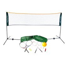 Traditional Garden Games Badminton Volley Ball Tennis Net 3m
