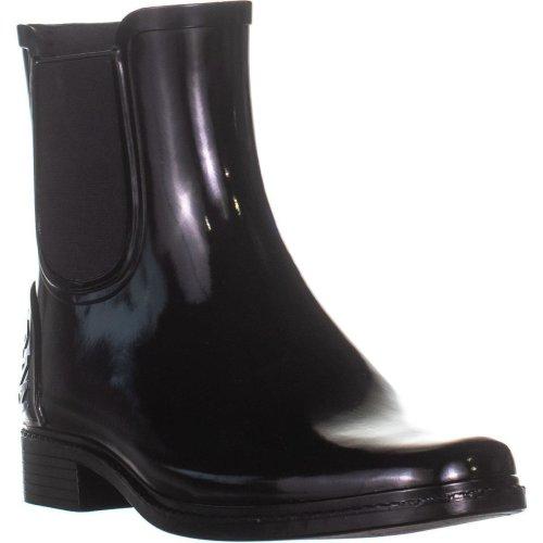 DKNY Marsha Rounded Toe Mid-Calf Boots, Black, 3.5 UK