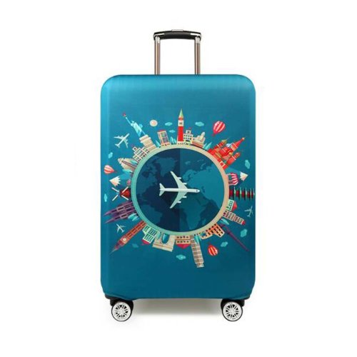 Cool Travel Luggage Cover Suitcase Protector Fits 18-20 Inch Luggage #3