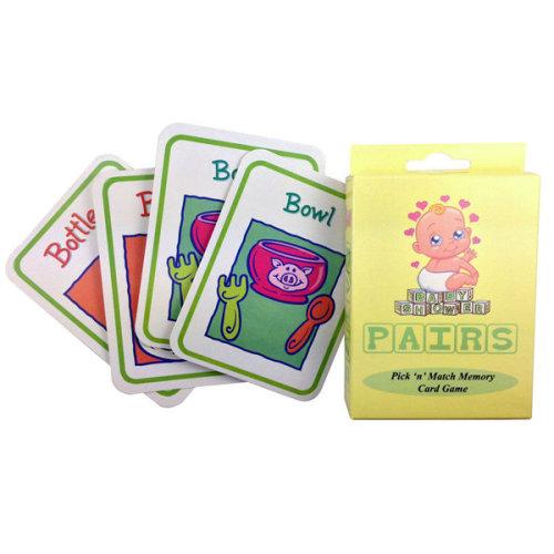 Alandra Baby Shower Memory Game - Pairs Card 32 Cards Fun Mum Mix Match -  baby shower game pairs memory card 32 cards fun mum mix match
