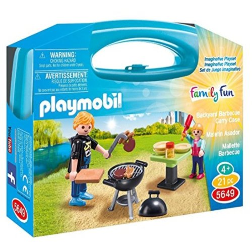"PLAYMOBIL Carrying Case Small ""Barbeque"""