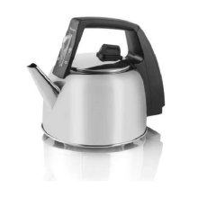 Swan Stainless Steel Kettle 1.7L Detachable Power Cord - Silver (Model SWK17L)