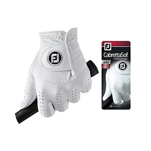 Footjoy CabrettaSof - Golf Gloves for Left Hand Color, White, Size S