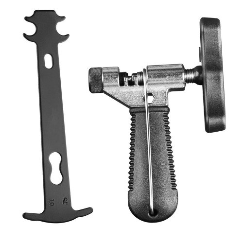 TAGVO 2-in-1 Bike Chain Tool+Chain Checker, Universal Bicycle Chain Repair Tool with Chain Wear Indicator Tool