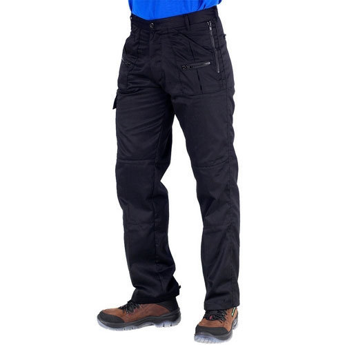 """Click AWTBL30S Action Work Trousers Black 30"""" Short"""