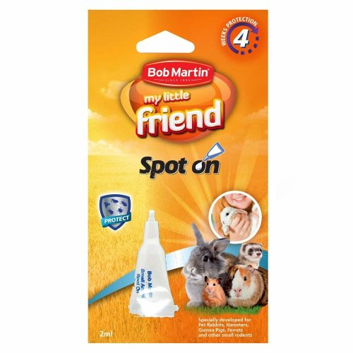 Bob Martin My Little Friend Spot On Small Animal Flea Protection (Case of 10 Packs)