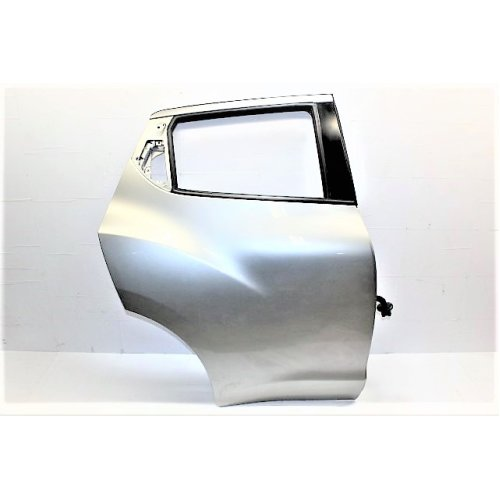 2012 NISSAN JUKE RIGHT SIDE REAR DOOR KY0 CHROME SILVER