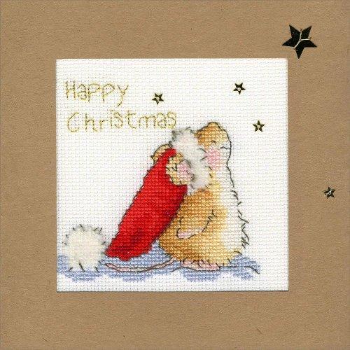 Bothy Threads Cross Stitch Kit - Christmas cards :   Star Gazing XMAS20