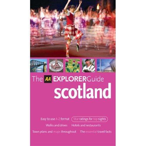 AA Explorer Scotland (AA Explorer Guides)