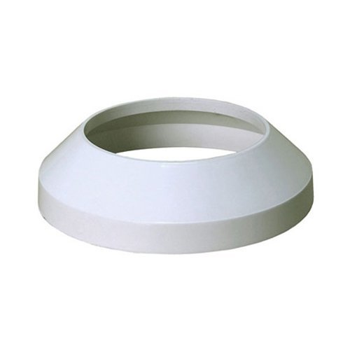 Toilet Soil Pipe Collar 110mm White Cover Ending