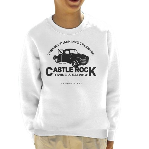 Castle Rock Towing And Salvage Stand By Me Kid's Sweatshirt