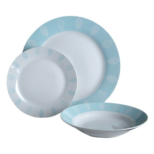 12Pc Beech Dinner Set