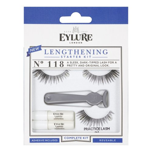 Eylure Lengthening Eyelash Starter Kit Number 118