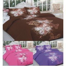 Butterfly Printed Duvet Cover Bedding Set Single Double King Super King