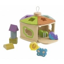 Chicco Toy Cottage Shape Sorter